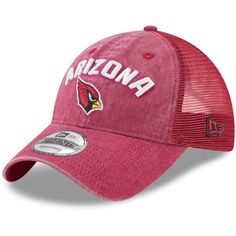 look for 31b20 d3c01 Arizona Cardinals New Era Rugged Team Trucker 9TWENTY Adjustable Snapback  Hat - Cardinal, Sale