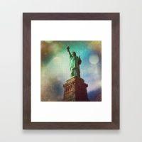 #Society6 #art #decor #FramedArt The Statue Of...