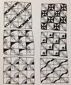 禪繞畫圖案設計Zentangle pattern -PEAOOO 豌豆莢 @ damy的快樂隨意作 :: 痞客邦 PIXNET ::