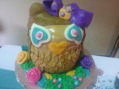 Owl theme baby shower