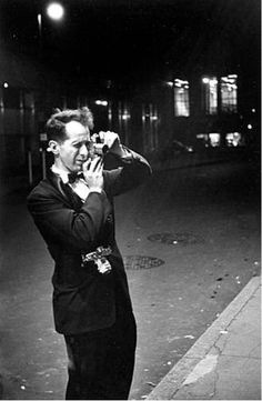"""""""Robert Frank is an important figure in American photography and film. His most notable work, the 1958 photobook titled The Americans, was influential, and earned Frank comparisons to a modern-day de Tocqueville for his fresh and skeptical outsider's view of American society. Frank later expanded into film and video and experimented with manipulating photographs and photomontage."""""""