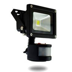 Factory price high quality 10w PIR Sensor 85-265V led flood light