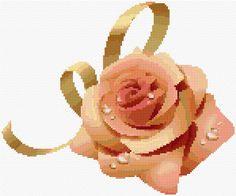 Cross Stitch   Rose xstitch Chart   Design