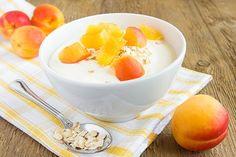 Aprikosencreme - Rezept Tolle Desserts, Köstliche Desserts, Bread Recipes, Cantaloupe, Panna Cotta, Dips, Deserts, Pudding, Baking