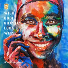 If you haven't gone wild yet, this is your reason. Share your Holi pictures of looking mad, funny, ugly and WIN a voucher worth Rs.1000. #KhulKeKheloHoli #HappyHoli *All rights reserved. Awarding 3 Winners on 27th March.
