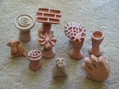 clay artist stamps