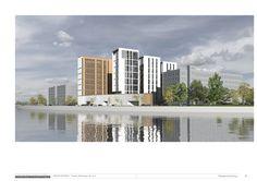 Павелецкая, вторая концепция жилого комплекса : Sergey Skuratov Architects
