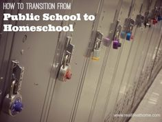 How to Transition from Public School to Homeschool