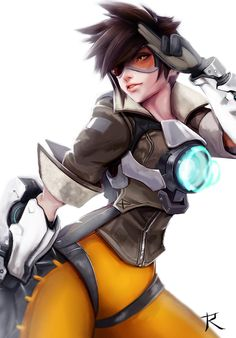 Tracer by Ryumi-gin on DeviantArt - Overwatch Tracer