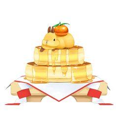 餅がなければパンケーキを飾ればいいじゃない