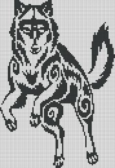 Alpha friendship bracelet pattern added by puppydog. Counted Cross Stitch Patterns, Cross Stitch Charts, Cross Stitch Embroidery, Embroidery Patterns, Bead Loom Patterns, Perler Patterns, Crochet Patterns, Modele Pixel Art, Motifs Animal