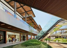 The second largest shopping center of Latin America: Antea Lifestyle Center located in Queretaro, Mexico. The project is designed by Sordo Madaleno Arquitectos (c) Paul Rivera.