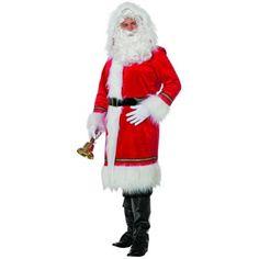 Manteau de Père Noël Luxe - iDéguisements