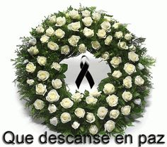 Que-descanse-en-paz Condolences Quotes, Condolence Messages, Sympathy Quotes, Get Well Soon Messages, Peace Quotes, Cute Baby Animals, Funeral, Diy Room Decor, Christmas Wreaths
