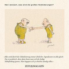 Herr #Janosch, was sind die großen #Veränderungen?