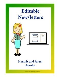 This bundle includes monthly and parent newsletters. Monthly Newsletter: This Editable Monthly newsletter is a great way to keep your students updated of the important dates to remember, get excited for upcoming events and most of all highlight your star Primary Classroom, Elementary Teacher, School Classroom, Elementary Education, Parenting Plan, Parenting Styles, Star Students, Teaching Resources, Classroom Resources