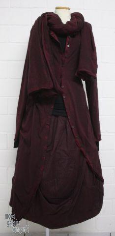 "www.modegalerie-bongardt.de - rundholz mode, rundholz black label, rundholz dip Rundholz black label Winter 2014, mega-edler-Schal ""cotton-silk""...in 2 verschiedenen Farben ! 801408/W14"