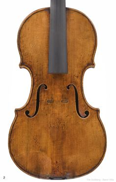 "1730c Guarneri Del Gesu Violin ""Goldberg-Baron Vitta"" from Library of Congress Collection"