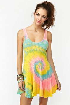 Deadstock Tie Dye Dress