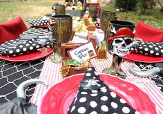 Pirate Party Tablescape