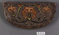 Bag Date: 17th century Geography: Iran Culture: Islamic Medium: Silk, metal Accession Number: 29.23.24