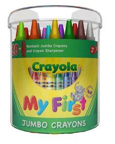 Crayons Crayola Jumbo Tub 24's