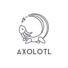 Axolotl Cute, Mexican Art Tattoos, Bird Template, Mountain Tattoo Design, Cute Animal Drawings Kawaii, Mexico Art, Typography Logo, Funny Art, Drawing For Kids