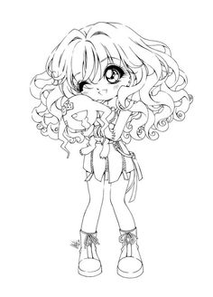 Our collection of Chibi coloring pages features some cute Chibi characters in trendy outfits. Description from coloringme.com. I searched for this on bing.com/images