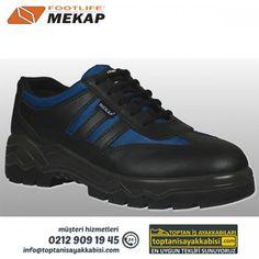 Mekap iş ayakkabısı 084 Tornado Mavi