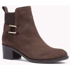 Suede Ankle Boot ( 195) ❤ liked on Polyvore featuring shoes, boots, ankle  booties, bootie boots, suede ankle boots, suede ankle booties, suede boots  and ... a2e6bdc6cd0f