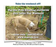 PENNY'S two cents: enjoy the long weekend and the shipping's on us