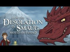 How The Desolation Of Smaug #Movie Should Have Ended