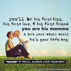 Don't know if I'm having a boy, but this is super sweet! ... think i just might create something around this quote..
