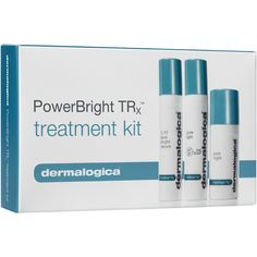 powerbright trx treatment kit, this convenient travel-sized kit features all three PowerBright TRx™ treatment formulas, designed to help control and prevent factors that contribute to uneven skin tone and other pigmentation issues.