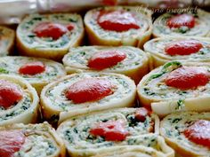 Girelle di crepes salate