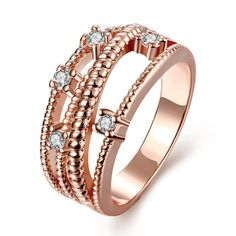 Cheap opal rings for women, Buy Quality gold ring directly from China fashion rings for women Suppliers: 2015 HOT&NEWEST Opal Gold color Fashion Opal Ring for women,set with zircon crystal,fashion jewelry gold ring Gold Rings Jewelry, Opal Rings, Fashion Rings, Fashion Jewelry, Swarovski Ring, Crystal Fashion, Cubic Zirconia Rings, Gold Plated Rings, 18k Rose Gold
