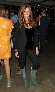 Kelly Bensimon - L.A.M.B. - Reception - Fall 2010 MBFW