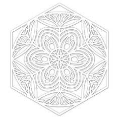 Use with sprays, markers, journaling pens, ink pads, you name it! You can even stamp through them to create interesting backgrounds and textures. This stencil measures approximately 5 x 6 inches. Abstract Coloring Pages, Pattern Coloring Pages, Flower Coloring Pages, Mandala Coloring Pages, Coloring Book Pages, Coloring Sheets, Adult Coloring, Coloring Letters, Paisley Color