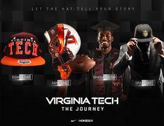 Virginia Tech College Football Recruiting, Sports Graphics, Sports Images, Virginia Tech, Freelance Graphic Design, Athlete, Presentation, Branding, Social Media