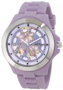 Ed Hardy Women's MT-PU Mist Purple Watch