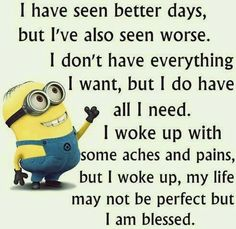 Thanking God for everyday!