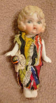 Lovely Antique Bisque Cupie Flapper Doll C 1920 30 | eBay