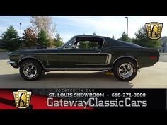 1968 Ford Mustang   St. Louis, Missouri   STL 7097