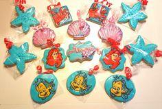 Little Mermaid inspired cookies