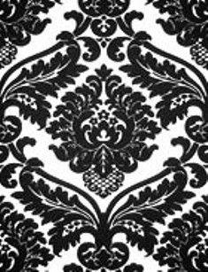 zwart wit barok vinyl behang black and white wallpaper siyah beyaz duvar kagidi 11 Black And White Wallpaper, High Quality Wallpapers, Flocking, Animal Print Rug, Home Decor, Remodeling, White Wallpaper, Decoration Home, Room Decor