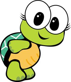 Photo from album Cartoon Faces, Cartoon Drawings, Cute Drawings, Disney Canvas Paintings, Turtle Images, Cute Turtles, Alphabet For Kids, Baby Tattoos, Cute Cartoon Wallpapers