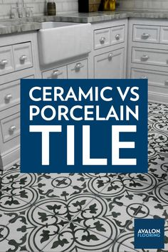 "The terms ""ceramic"" and ""porcelain"" often get thrown around interchangeably, but they're not one and the same. Learn the important differences to keep in mind as you consider your options for tile."