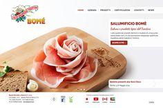 E' online il sito web del Salumificio Bomè, #Editel agenzia web #Trento