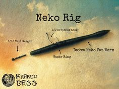 The Neko Rig is a great way to catch fish. It worked well out at Lake Powell Bass Fishing. Check it out in action. The Neko Rig is a gr Bass Fishing Lures, Fishing Knots, Best Fishing, Kayak Fishing, Trout Fishing, Fishing Stuff, Fishing Tackle, Salmon Fishing, Carp Fishing