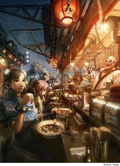 """UDON's """"Art of Capcom"""" cover by Arnold Tsang"""
